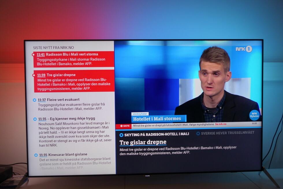 TV-sendinger. Foto: ØYVIND PAULSEN