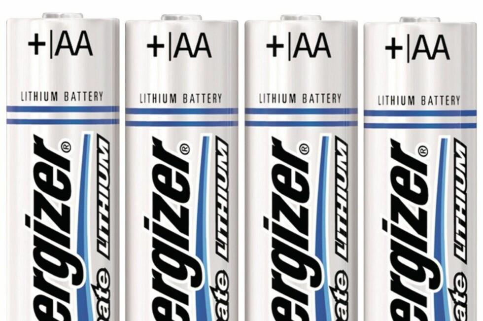 BEST I TEST: Energizer Ulitmate Lithium vant testen med suveren margin. Men tenker du økonomi, er det ikke sikkert det er beste valg. Foto: AMAZON