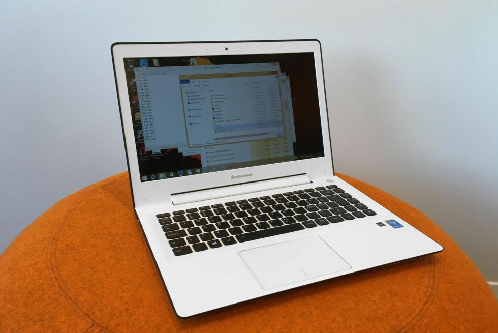 FINFIN PC: Lenovo U31-70 gir deg mye for pengene. Foto: BJØRN EIRIK LOFTÅS