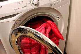 Slik vasker du dunjakka