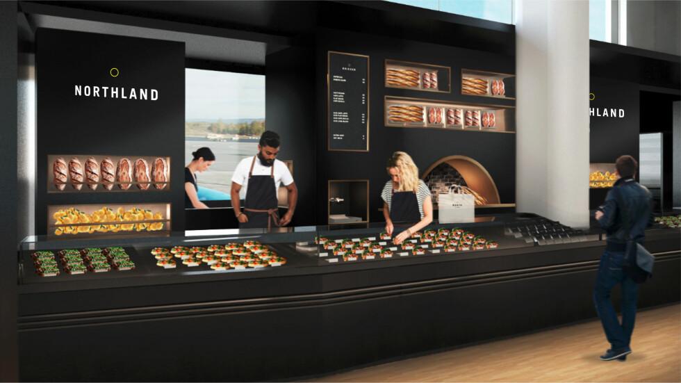 Northland by 7-Eleven: Skal servere brødbaserte produkter. Foto: MAVERICK/REITAN CONVENIENCE NORWAY