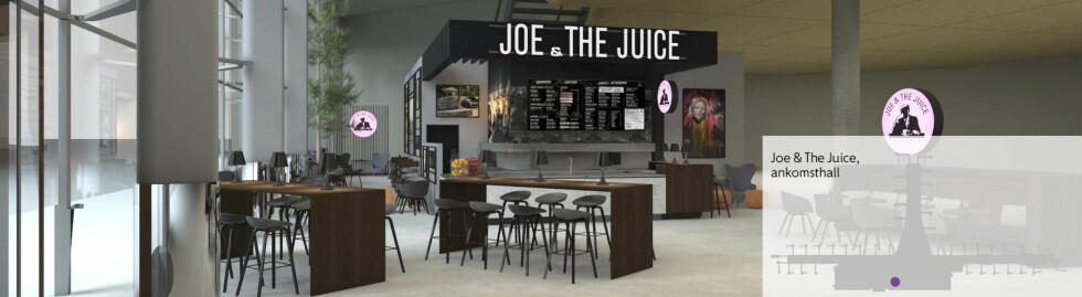 Joe & The Juice: Kaffe- og juicebar Foto: RIIS RETAIL