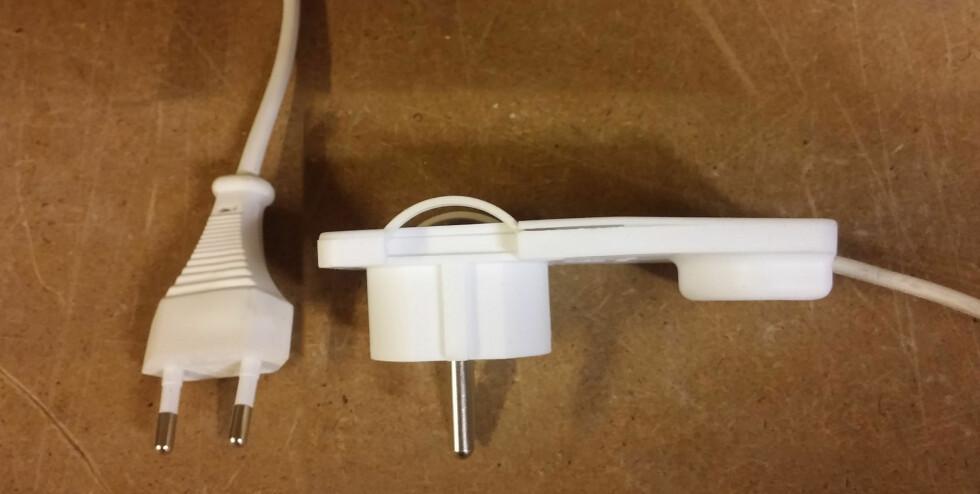 <strong><b>MYE Å HENTE:</strong> </b> Det er flere centimeter å hente ved å bytte støpsel, det er også tryggere med tanke på ledningsbrudd. Foto: BRYNJULF BLIX