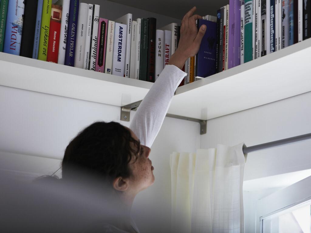 HANDLE FRITT: Vanlige bøker er helt avgiftsfrie fra utlandet, og du kan derfor kjøpe så mye du vil.  Foto: IKEA