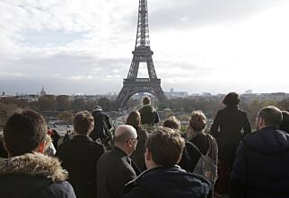 Ja, du kan avbestille Paris-reisen uten kostnad