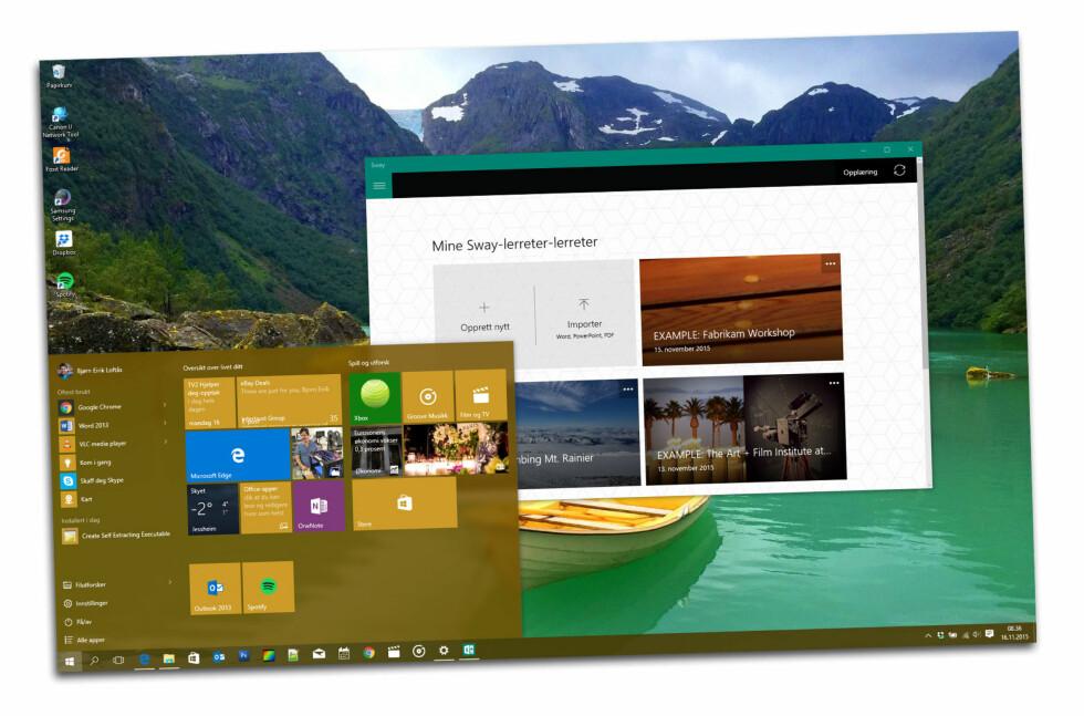 Bedre sikkerhet og flere nye apper, er blant de mindre kjente nyhetene i den første store oppdateringen til Windows 10.