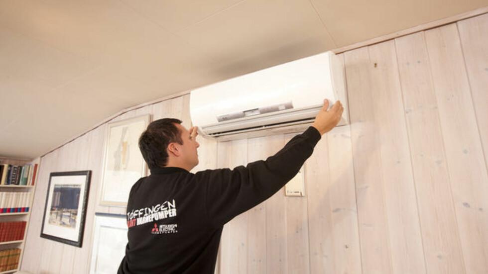 INSTALLATØREN MÅ INFORMERE: Installatøren har et ansvar i å gi kunden opplæring i bruk og vedlikehold av varmepumpa. Det er det ikke alle som gjør like godt, ifølge Sifo-rapporten og Novap. Foto: MITSUBISHI ELECTRIC