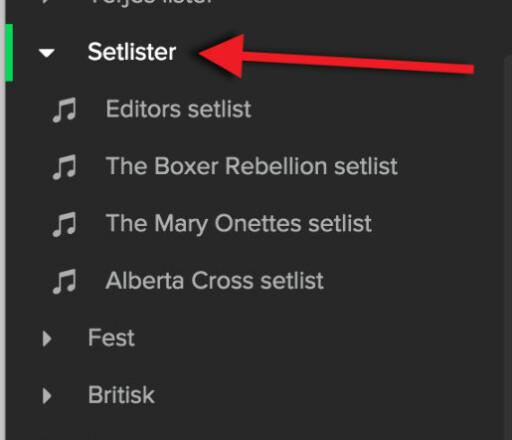 HOLD ORDEN: Putt spillelistene dine i mapper, så blir det enklere å få oversikt over din musikksamling. Foto: KIRSTI ØSTVANG