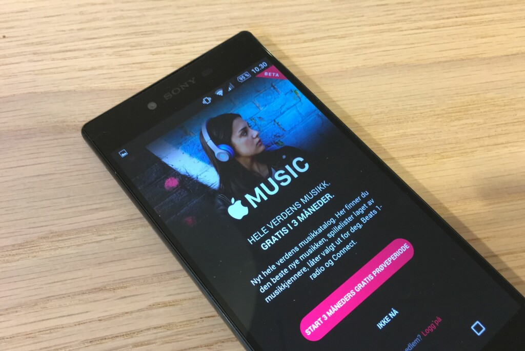 <strong>NÅ PÅ ANDROID:</strong> Apple har nå lansert sin musikktjeneste også for Android-telefoner. Foto: PÅL JOAKIM OLSEN