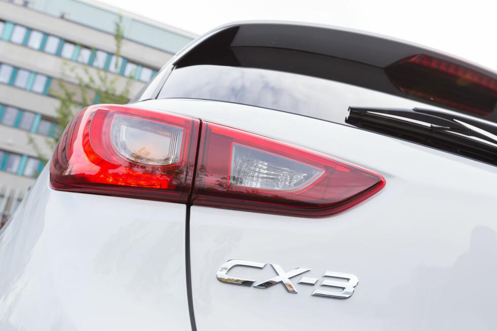 <strong><b>MAZDA CX-3:</strong></b> Mazda har virkelig fått dreisen på design med CX-3.  Foto: KASPER VAN WALLINGA