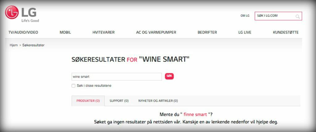 image: LG Wine Smart