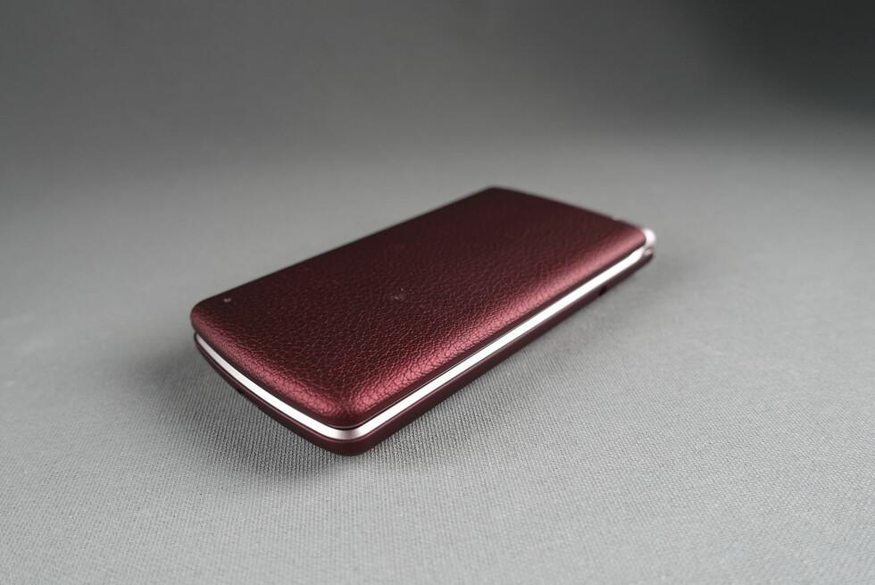 VI KLAPPER IKKE: LGs klapptelefon skuffer oss på mange punkter. Foto: PÅL JOAKIM OLSEN