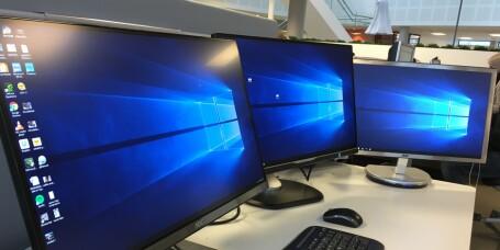 Så enkelt kan du ha mange skjermer