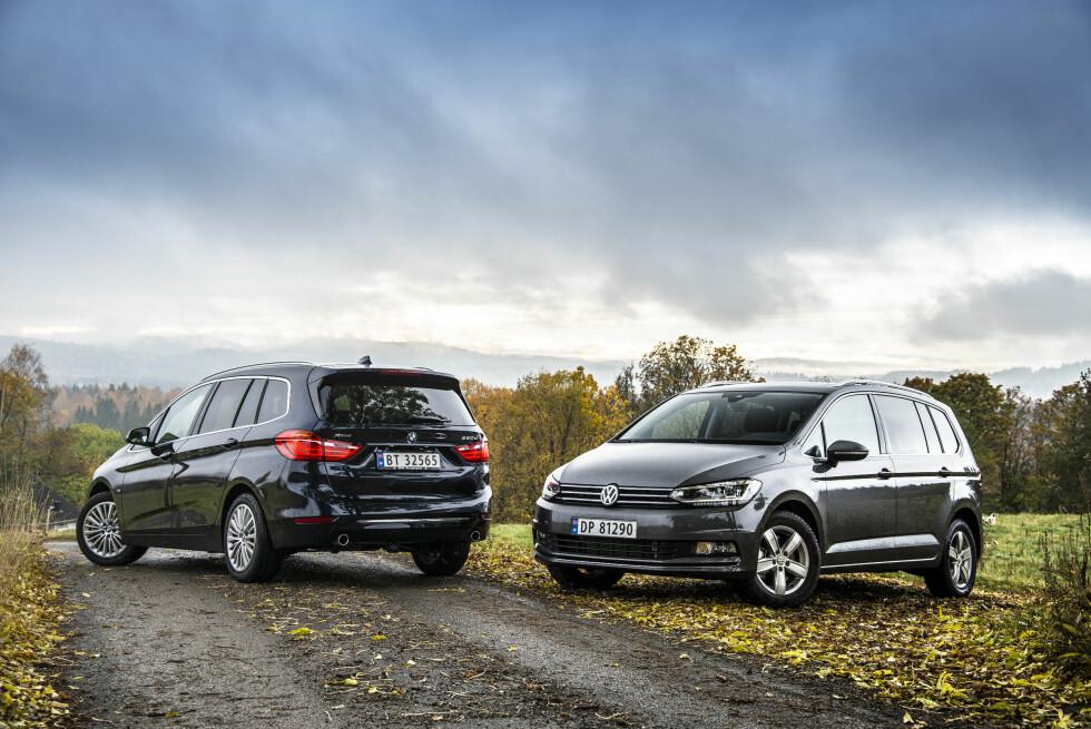 SIKTER HØYT: BMW satser på at 80 prosent av Gran Tourer-kundene kommer fra andre merker. VW satser på å kuppe markedet. Foto: JAMIESON POTHECARY