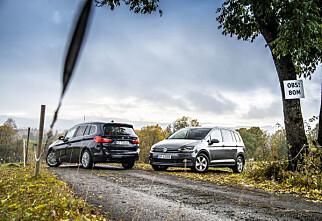 Duell: BMW 2-serie Gran Tourer mot VW Touran