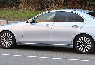 Neste Mercedes-Benz E-klasse avslørt!