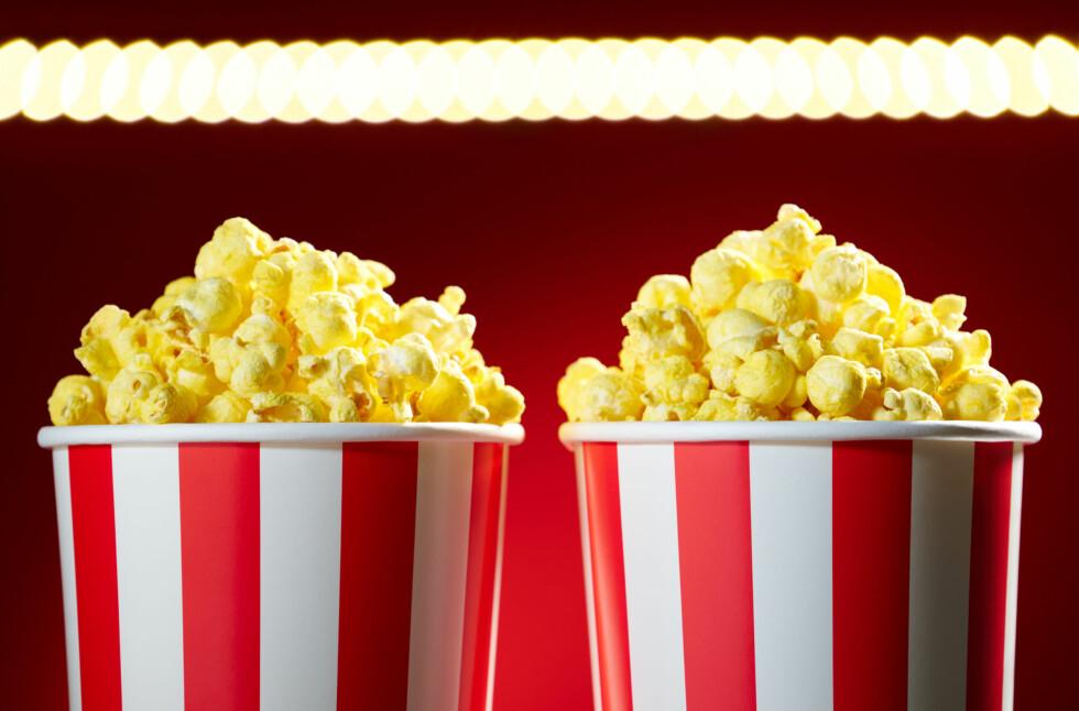 SPAR PENGER:  Benytt sjansen i helga hvis du ønsker å betale litt mindre for kinobilletten enn du vanligvis må. Foto: DIEGO CERVO / CRESTOCK