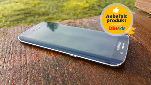 Årets mobil: Samsung Galaxy S6 Edge. Foto: PÅL JOAKIM OLSEN