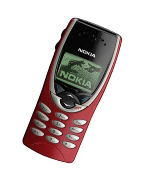 LIKE DYR SOM IPHONE: Nokia 8210 kostet 5.500 da den kom på markedet for 15 år siden. Foto: NOKIA