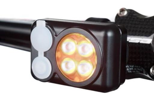 KRAFTIG: LED-lampene for sykkel kan levere opptil sju ganger mer lys enn normale billykter. Foto: QUAD AMBER