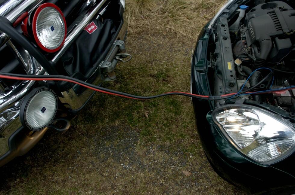 VÆR FORBEREDT: Korte turer gjør batteriet ekstra utsatt om vinteren.  Foto: NTB SCANPIX/ MIMSY MØLLER