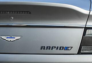 Luksus-elbil på vei: Aston Martin RapidE