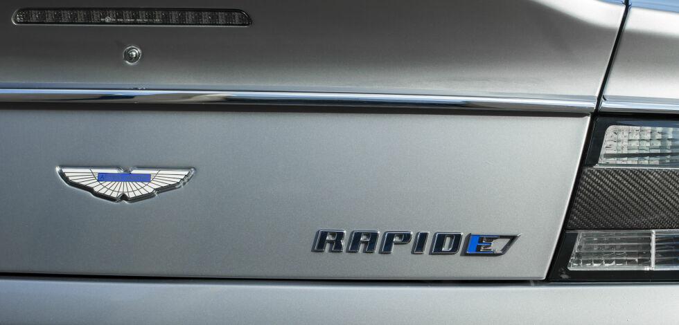 image: Luksus-elbil på vei: Aston Martin RapidE
