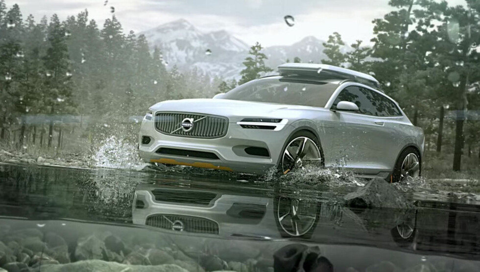UNDER UTVIKLING: Den kommende 40-serien til Volvo vil også komme i elektrifisert utgave og være basert på den modulære CMA-arkitekturen. Her ser vi en konseptbil som indikerer noe om hvordan en crossover-variant kan komme til å se ut. (XC Coupe Concept). Foto: VOLVO