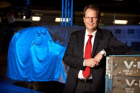 NYTT UTGANGSPUNKT: Peter Mertens (bildet) er ansvarlig for forskning og utvikling hos Volvo Cars og mannen bak utviklingen av de nye skalerbare plattformene. Foto: VOLVO