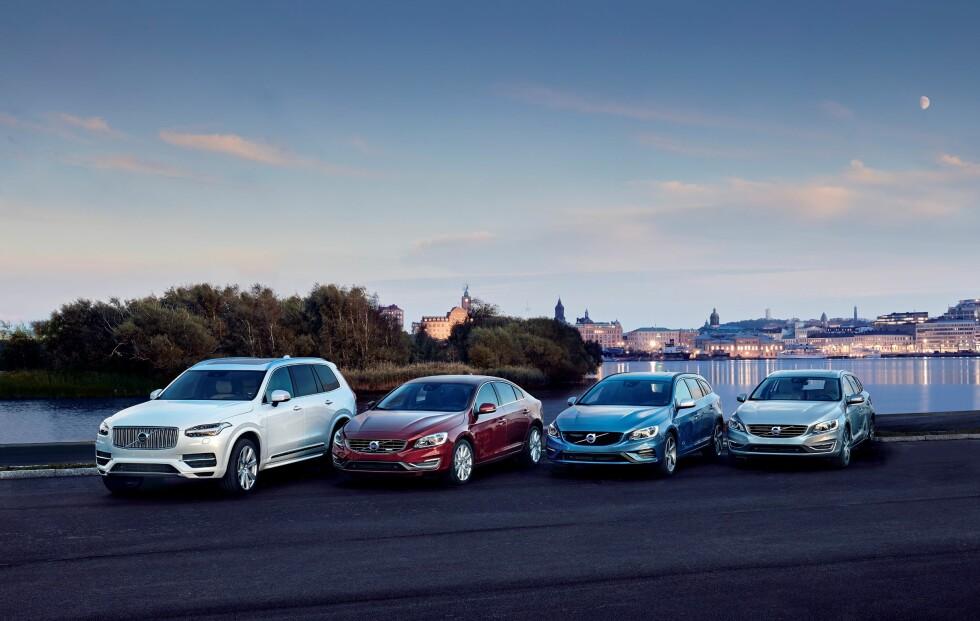 TVILLINGMOTORER: Alle Volvos modeller skal etterhvert komme i en ladbar variant og baseres på modulær arkitektur. Foto: VOLVO