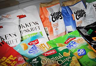 Test av årets chips og snacksnyheter
