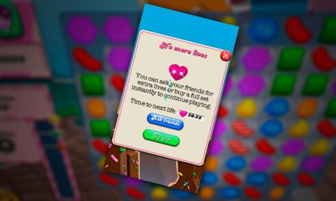 LIGG UNNA: La være å spille opp Candy Crush-livene dine hvis du vil sove. Foto: PÅL JOAKIM OLSEN