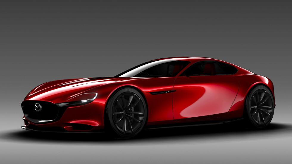 KODO-DESIGN: Mazda kjører stram linje med bevegelsens sjel, nå på sjette året. Foto: MAZDA