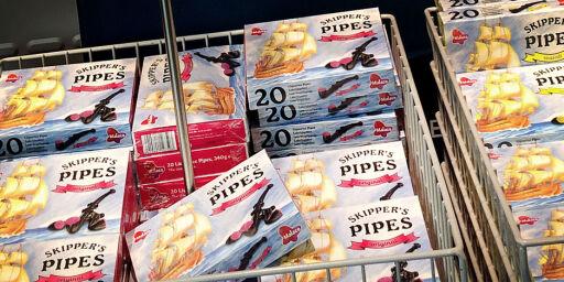 image: Lakrispiper uten 18-årsgrense og lovlige e-sigaretter