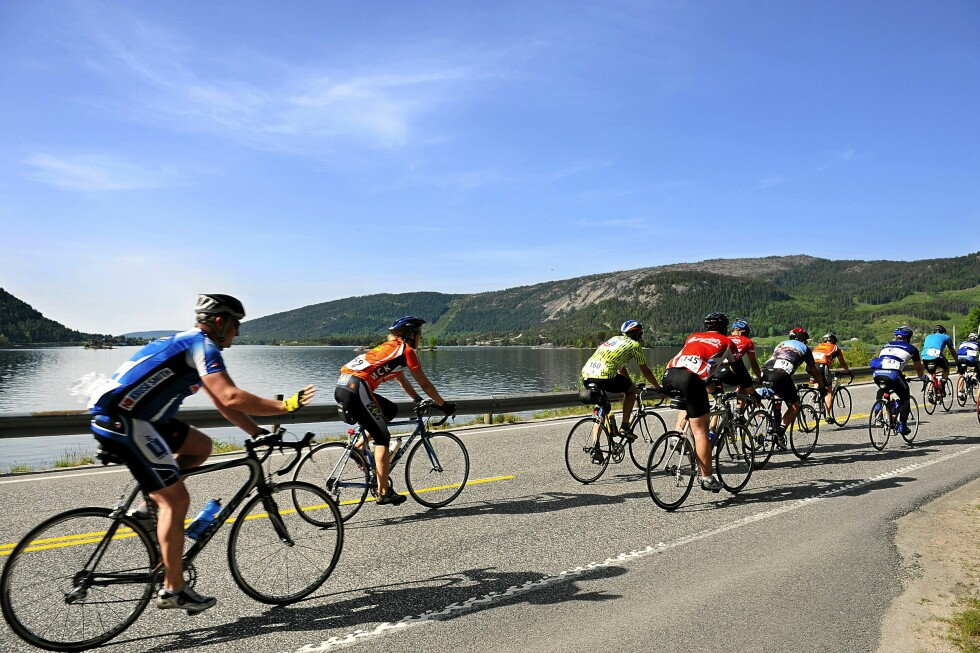 GÅR PROSJEKTET ETTER PLANEN må du være ekstra oppmerksom i kryssene hvor syklistene har forkjørsrett.  Foto: NTB SCANPIX / OTTO ALSAKER