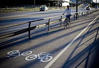 Prøveprosjekt gir syklistene i Kristiansand forkjørsrett