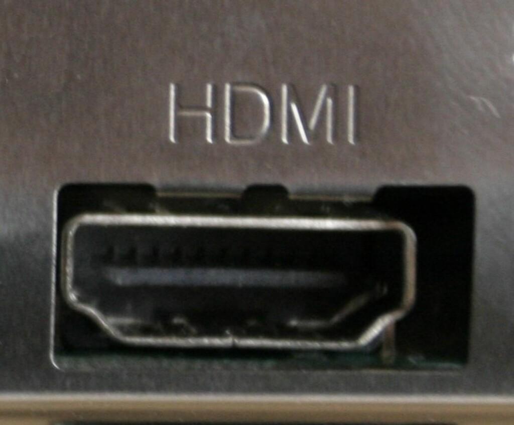 HDMI Foto: DINSIDE