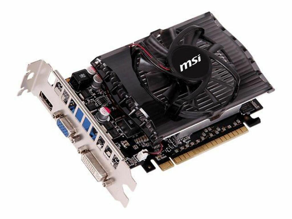 MSI grafikkort med HDMI 1.4-utgang Foto: PRODUSENTEN