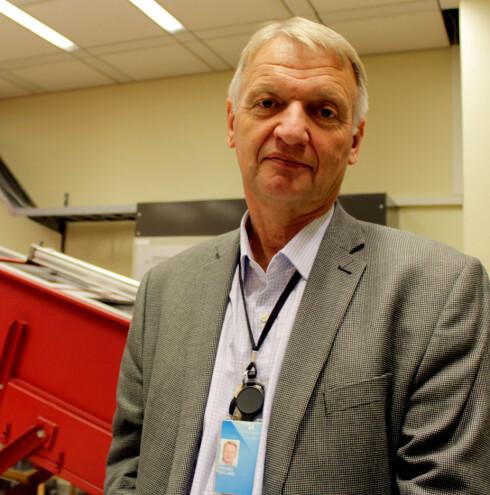 Trond Eklund, direktør for kontante betalingsmidler i Norges Bank Foto: KRISTIN SØRDAL