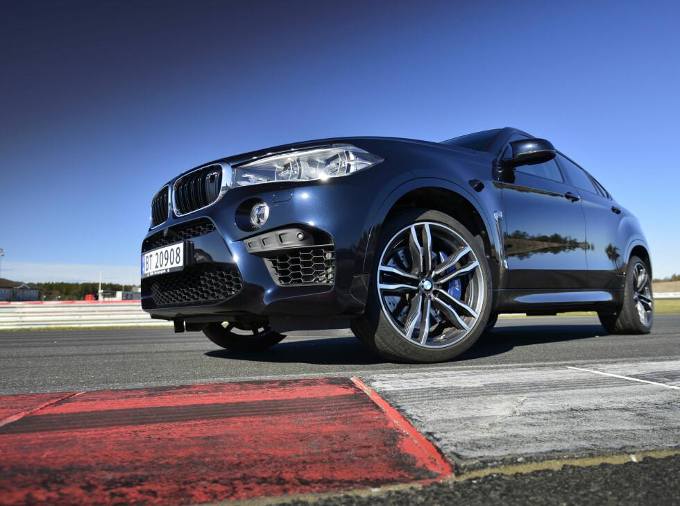 <strong><b>MONSTER:</strong></b>X6M er en beist av en bil. Ser du denne i speilet er det bare å flytte deg. Du har ikke sjans. Foto: JAMIESON POTHECARY