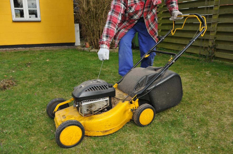 GI DEG LENGRE LEVETID: Gressklipperen trenger stell før den settes bort. Foto: Colourbox.com