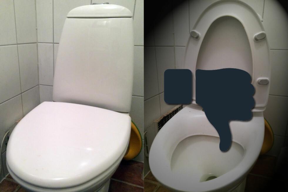 OPPE ELLER NEDE? Hvis du syns bakterier og rotter er ekkelt? Velg alternativet til venstre. Foto: BERIT B. NJARGA/NTB SCANPIX