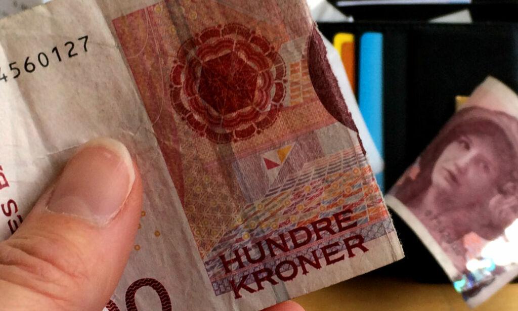 image: Se hva du får igjen for ødelagte sedler