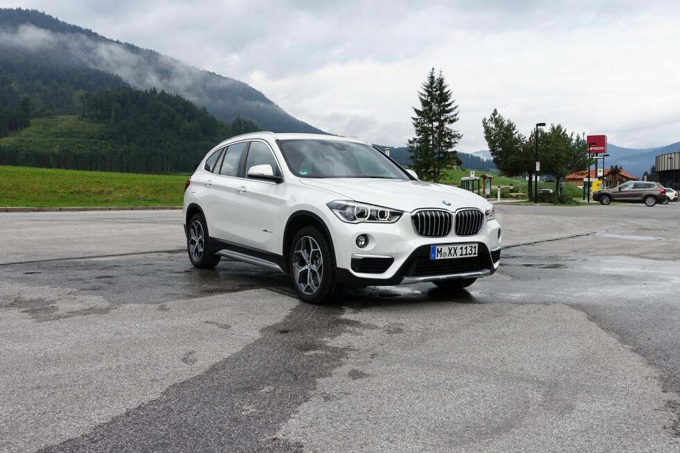 KORTVERSJONEN: Slik ser BMW X1 ut i dagens 5-setersvariant. Foto: KNUT MOBERG
