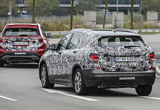 BMW forbereder Grand X1