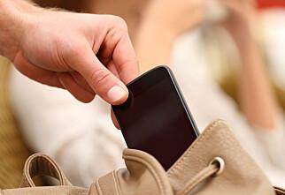 Nordmann frastjålet mobil - må ut med 40.600 kroner
