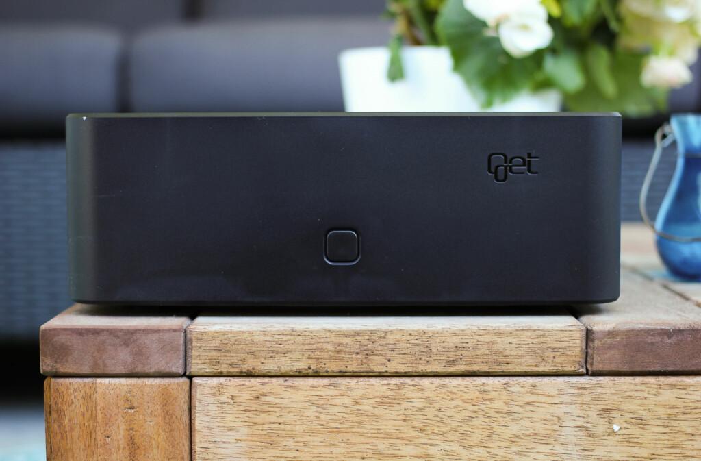 <B>ALT I ETT:</B> Get-boksen gir deg både nett og TV. Men slik behøver det ikke være i framtida, lover selskapet. Foto: ØIVIND IDSØ