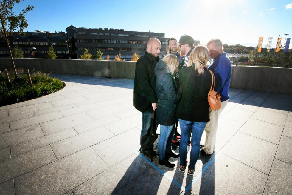 SEKS PERSONER: Så mange er tillatt per kvadratmeter gulvplass på NSBs lokaltog.  Foto: OLE PETTER BAUGERØD STOKKE