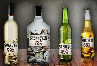 Så mye betaler du egentlig i avgift for alkohol