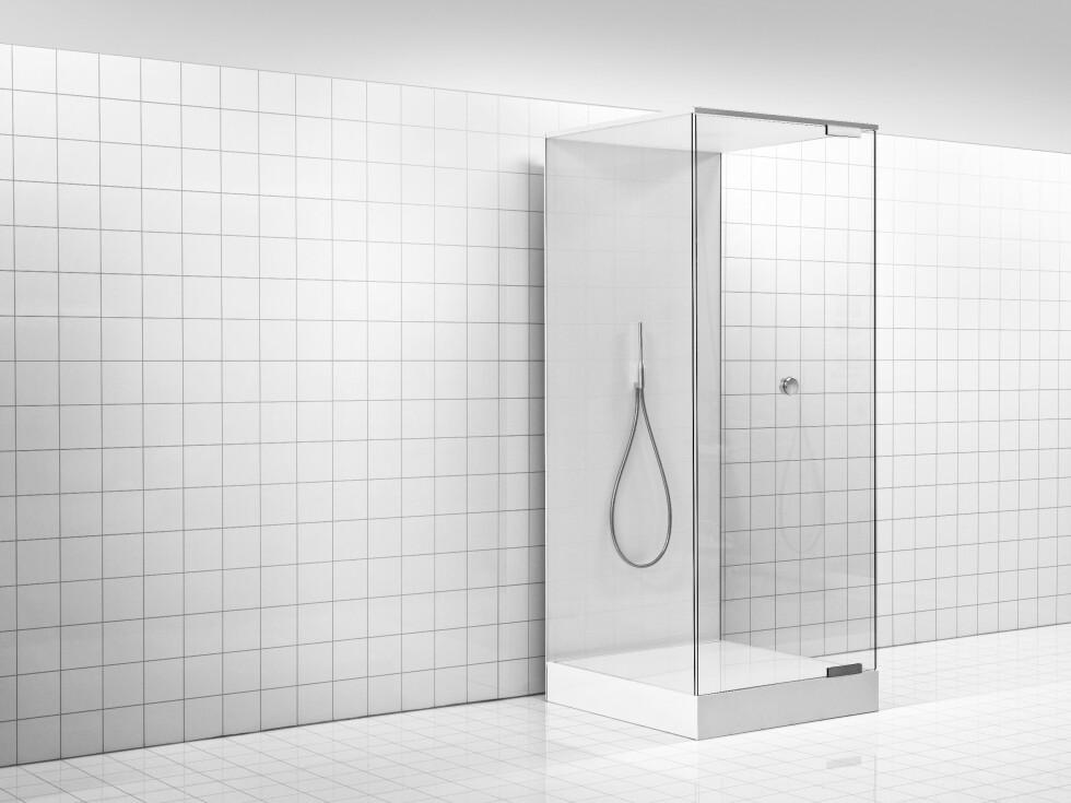 ELLER DUSJKABINETT: Eller du kan få løsningen som en lukket enhet, i form av et dusjkabinett. Foto: ORBITAL SYSTEMS